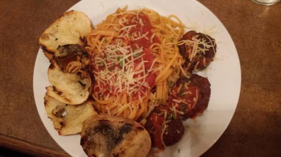 New Haven, MO: Spaghetti and Meatballs