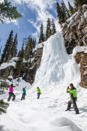 Toby Creek Adventures Ltd.: The Frozen Waterfall