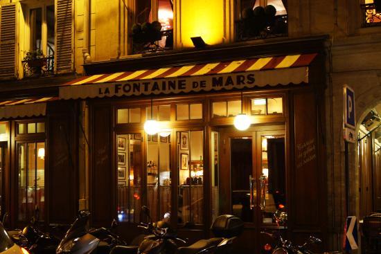 La Fontaine de Mars - Picture of La Fontaine de Mars, Paris ...