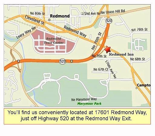 Redmond Inn Map Location