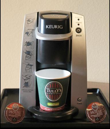 Redmond, WA: Keurig Coffee Maker with Tully's Coffee
