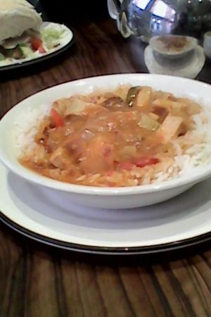 Boddy's of Bar Street Cafe: warming curry