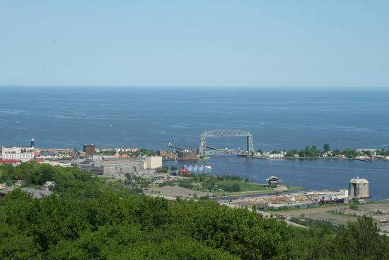 Enger Park and Tower: Duluth, MN from Enger Tower.