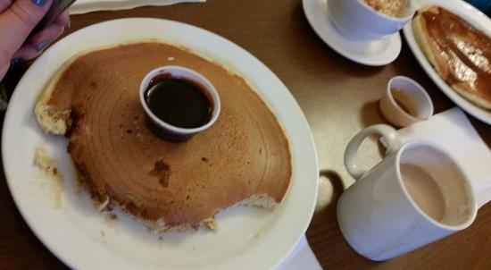 Fochabers, UK: Huge pancake