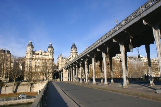Pont Vu Cote Passy Photo De Le Pont De Bir Hakeim Paris
