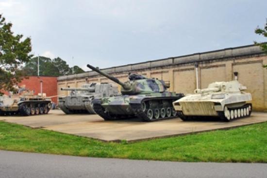 Newport News, VA: outside tanks