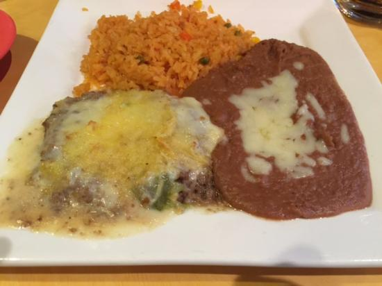 Andrews, Carolina del Norte: Lunch Special #4 Chile Relleno