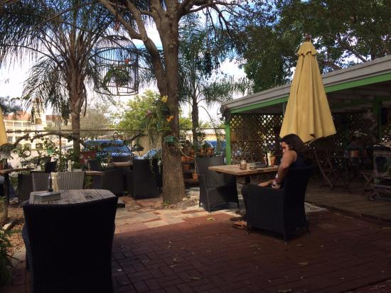 Wilton Manors, Флорида: The patio