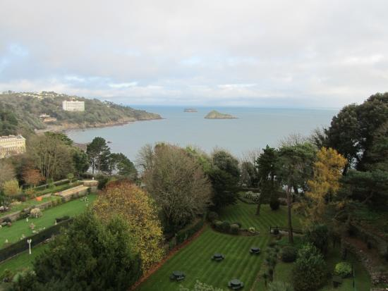 Garden and Sea from room 143 - Picture of The Headland ...