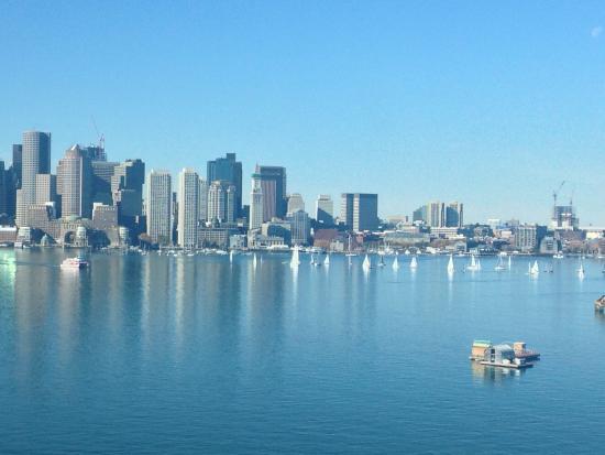 Hyatt Regency Boston Harbor: Room with a view!!!