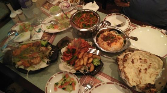 Quality indian food picture of mughal mahal kuwait city for Al hamra authentic indian cuisine