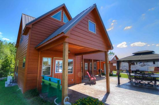 Crane Hill, AL: Two-story site built cabins customized for you...