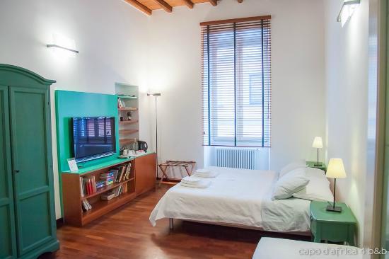 Capo d'Africa 4 Bed & Breakfast : Green room