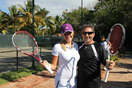 BTT Tennis Academy at Sea Horse Ranch Tennis Club: Tennis Club at Sea Horse Ranch, Cabarete, Dominican Republic