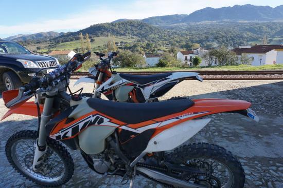 Cortes de la Frontera, España: KTM heaven