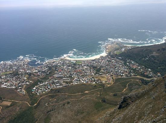 Tafelberg Uitzicht Foto Van Table Mountain National Park