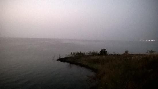 Bargi, India: lake