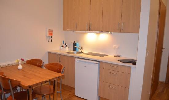 Einholt Apartments : Kitchen area