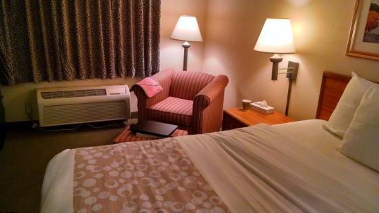 La Quinta Inn Toledo Perrysburg: Chair with ottoman