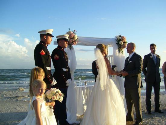 Sundial Beach Resort Spa Wedding Ceremony