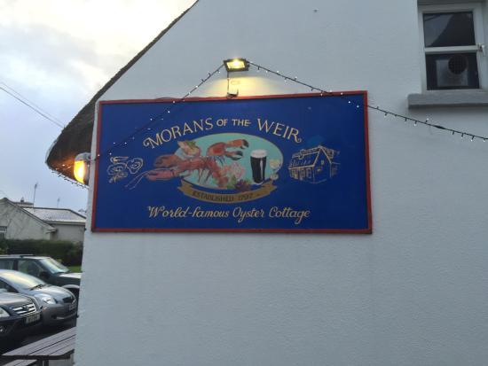 Morans Oyster Cottage : restaurant exterior