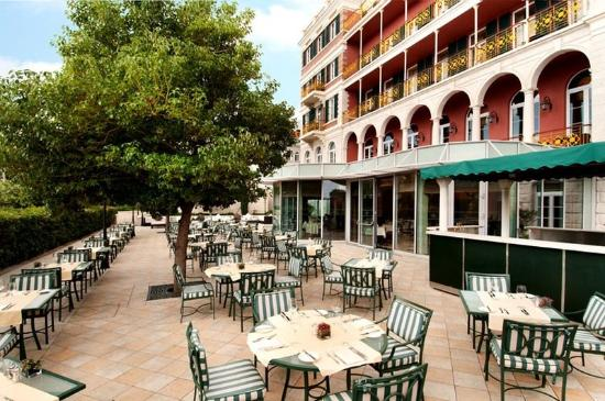 Hilton Imperial Dubrovnik: Porat Restaurant Terrace