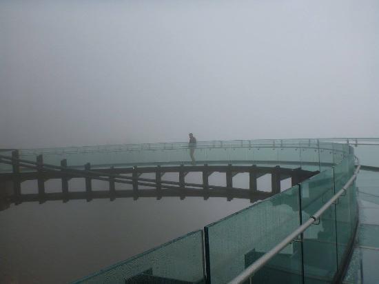 The Glacier View Inn: Skywalk