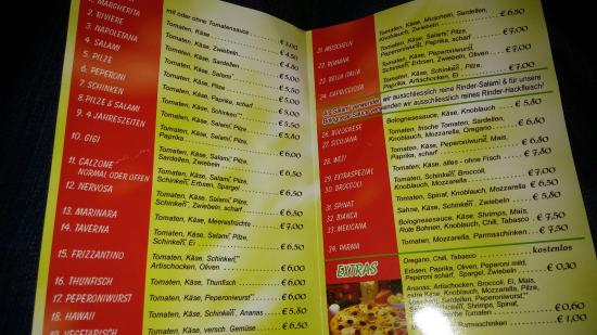 Langen, Tyskland: Pizzeria Pedro