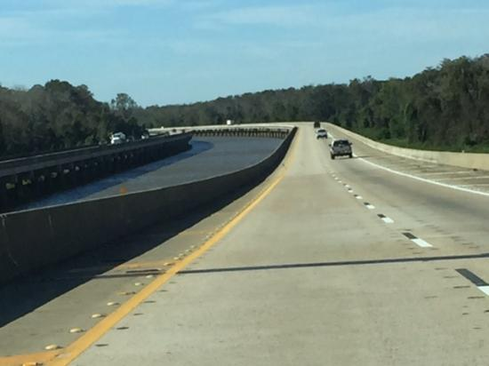 Bay Minette, AL: Great stretchof highway