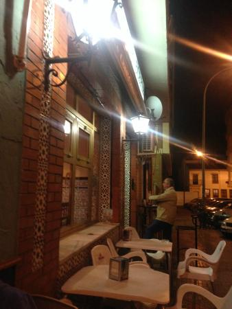 Provincia de Córdoba, España: de noche