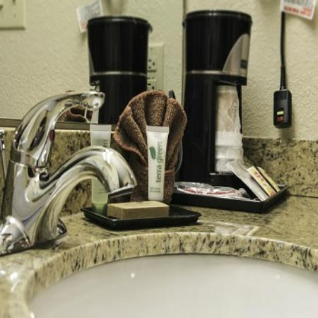 Grand View Inn & Suites: Vanity