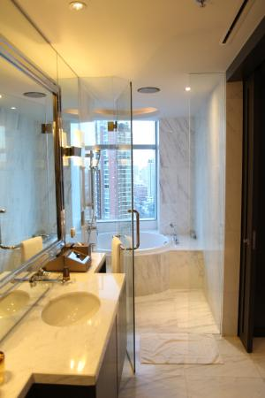 Coolest Bathroom Ever coolest bathroom ever. shower & round tub combo. - picture of