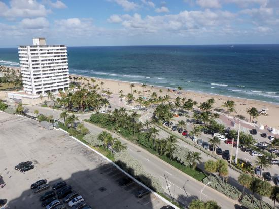 Bahia Mar Fort Lauderdale Beach A Doubletree By Hilton Hotel View From Room 16th