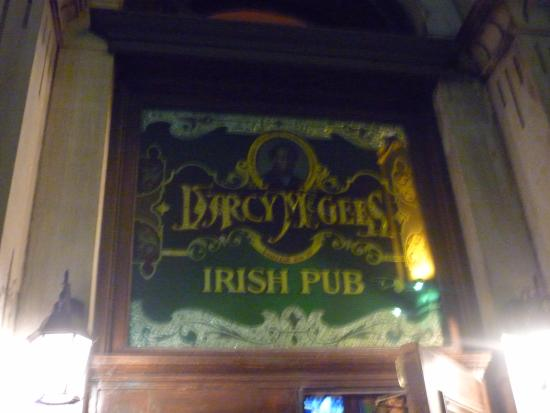 D'arcy McGee's Irish Pub: The Outside banner