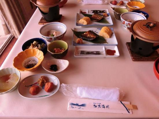 Kada Kaigetsu: 朝食
