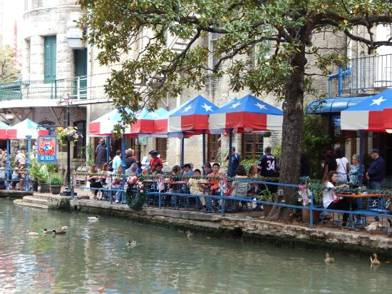 The Republic Of Texas Restaurant River Walk Dining Day Time