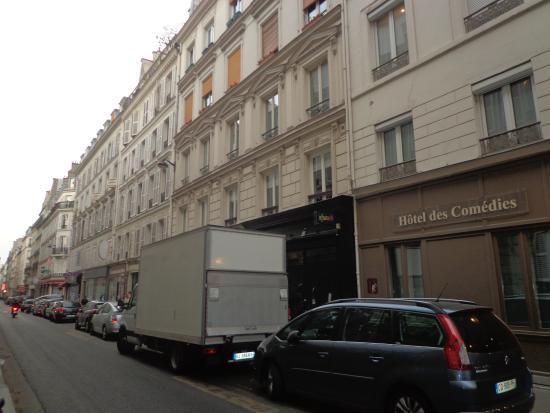 Hotel des Comedies: VISTA PARCIAL