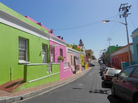 Upperbloem: Wijk Bo-Kaap waar het hotel zich bevindt