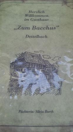 Dettelbach, Alemania: menu 2015