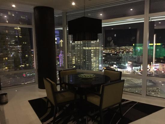 Penthouse Panoramic Strip View At Night Picture Of Aria Sky Suites Las Vegas Tripadvisor