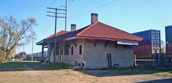 Waupaca Train Depot