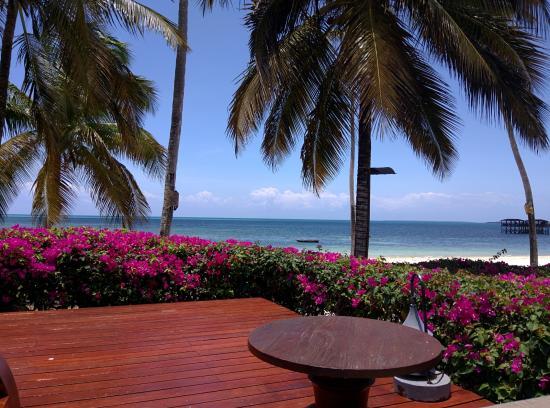 The Residence Zanzibar Beach From Dining Room