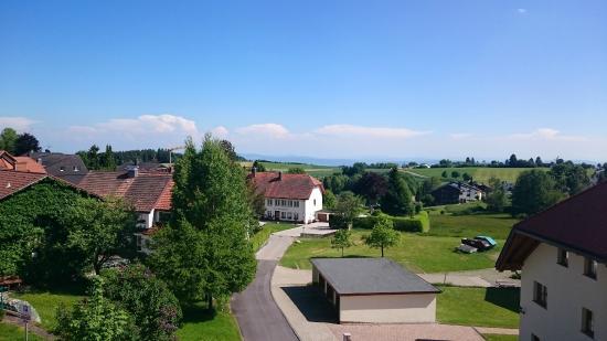 Hoechenschwand, Tyskland: View from Hotel Room