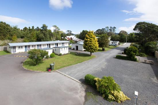 Whangarei Falls Holiday Park & BBH Backpackers: Whangarei Falls Holiday Park and YHA/BBH Backpackers