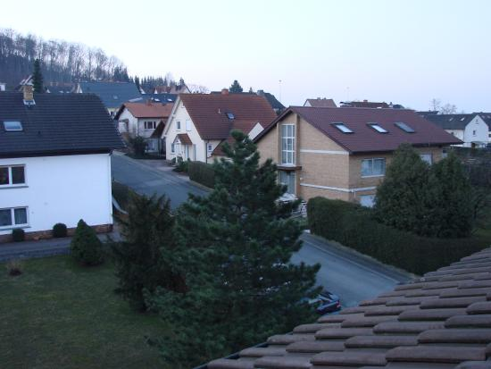 Monchberg, Niemcy: Early morning view