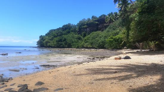 Beqa Island, Fiji: Private Island Picnic - tide was out all the time we were there.