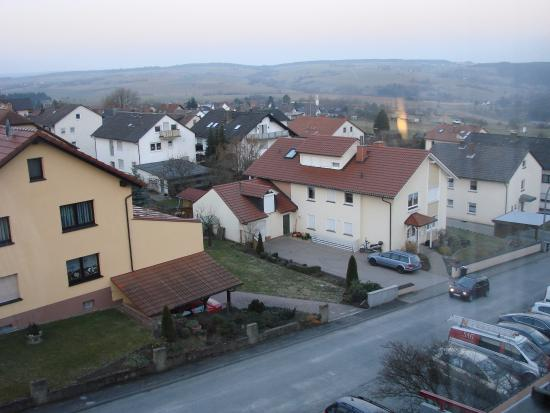 Monchberg, Tyskland: A view from my room