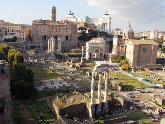 Forum just down the street photo de mercure rome colosseum centre rome tripadvisor - Romanian wooden houses when nature and tradition come together ...