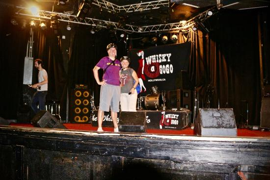 the famous stage at the whiskey a go go picture of bike tours hollywood los angeles. Black Bedroom Furniture Sets. Home Design Ideas