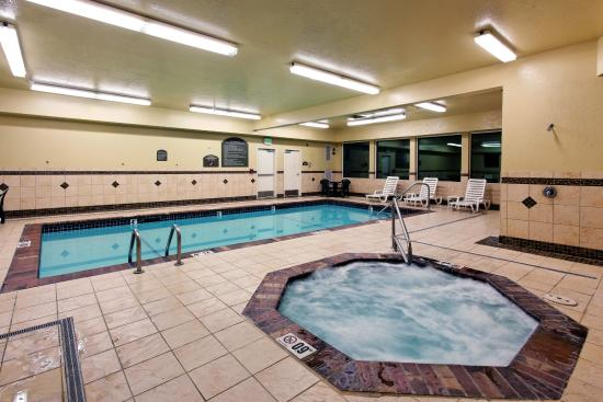 Swimming pool picture of holiday inn express suites - Holiday inn hotels with swimming pool ...